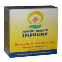 Marcus Rohrer - Spiruline Recharge 540 Comprimés