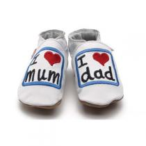 Starchild - I love Mum & Dad baby shoes