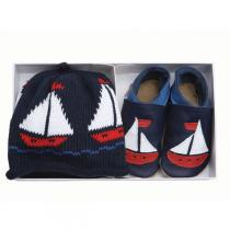 Starchild - Navy Sailorboat Gift Set
