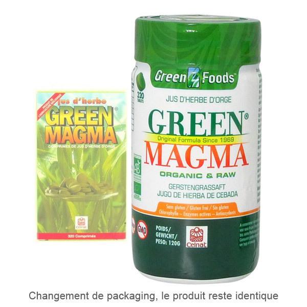Celnat - Green Magma Jus d'Herbe d'Orge x 320 comprimes