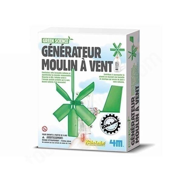 4M - Kit Construction éolienne - Dès 8 ans