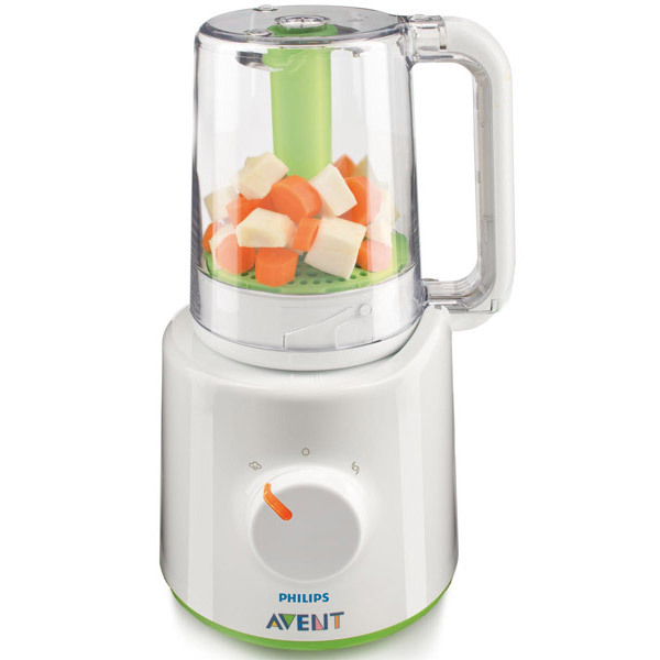 babyfood steamer blender avent shop online at. Black Bedroom Furniture Sets. Home Design Ideas