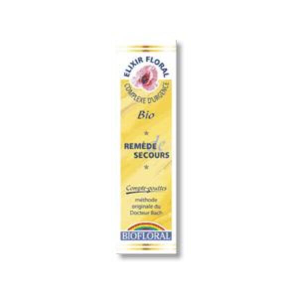 Biofloral - Remède de Secours Gouttes n°39 20mL