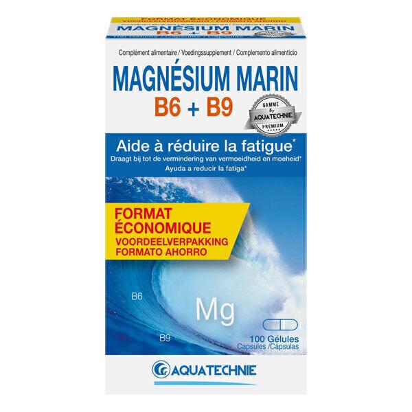 AQUATECHNIE - Magnésium Marin B6 + B9 100 gélules