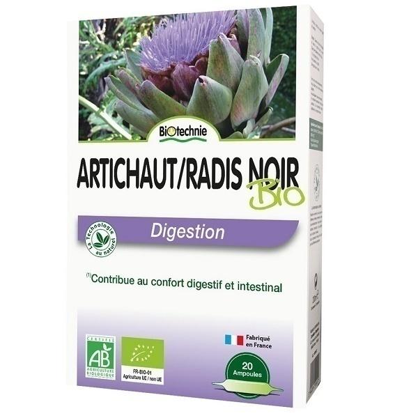 Biotechnie - Biotechnie Artichoke-Black Radice Bio | 20 x 10 ml ampoules