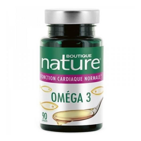 Boutique Nature - Oméga 3 x 90 capsules