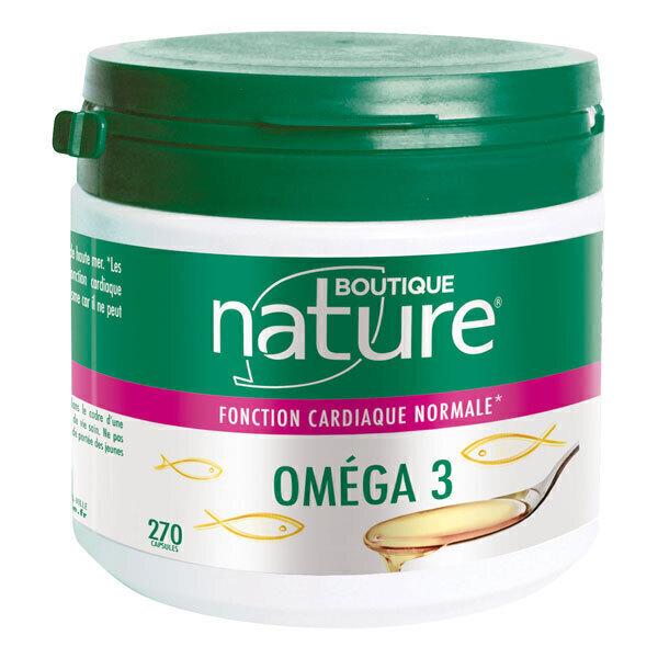 Boutique Nature - Oméga 3 x 270 capsules