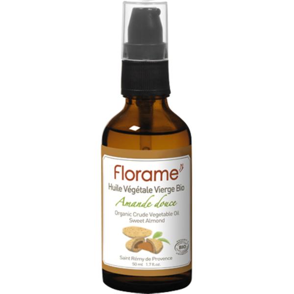 Florame - Huile végétale d'amande douce BIO 50ml