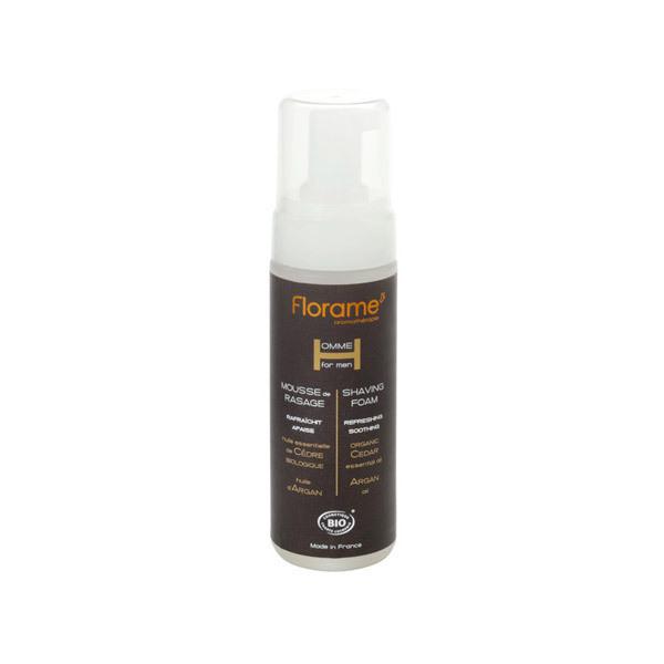 Organic Shaving Foam Florame