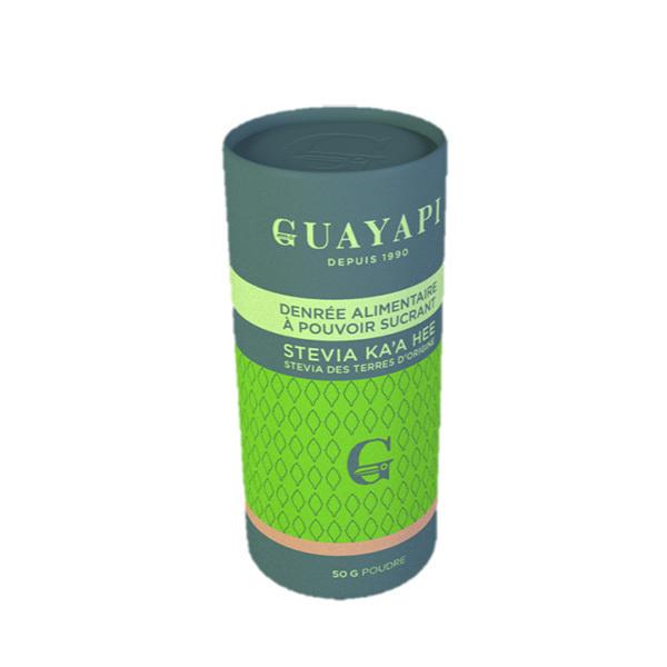 Guayapi - Stévia verte KA'A HÊE en poudre 50g