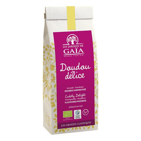 Les jardins de Gaïa - Rooibos Doudou Délice Grenade Framboise 100g