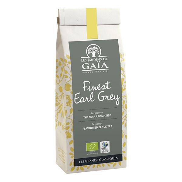 Les jardins de Gaïa - Thé noir FINEST EARL GREY bergamote 100g