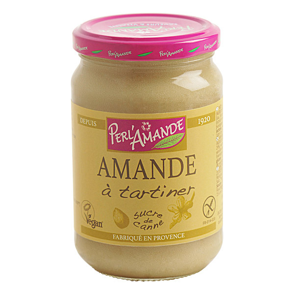 Perlamande - Tartinade d'Amandes 300g