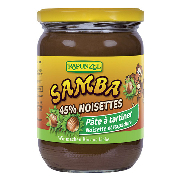 Rapunzel - Pâte à tartiner Samba 500g