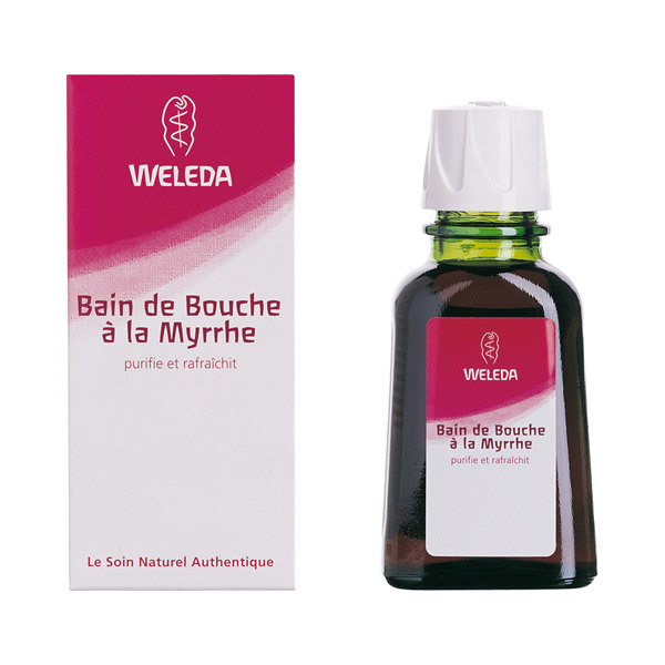 Weleda - Bain de bouche à la Myrrhe 50mL
