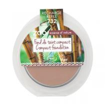 Zao MakeUp - Recharge Fond de teint compact 732 Petale de rose