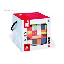 Janod - 100-Piece Kubix Blocks