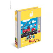 Janod - Magnetibook Coches