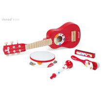 Janod - Confetti Live Music Set - Red