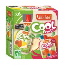Vitabio - Compotes Pomme Fraise Myrtille