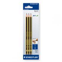 Staedtler - 3 crayons graphite B
