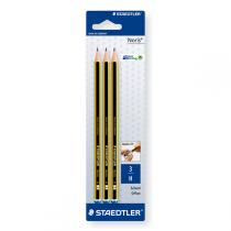 Staedtler - 3 Graphite Pencils - H