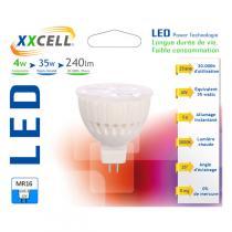 Xxcell - Lampadina LED ceramica 4W GU5,3 12V