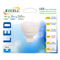Xxcell - Bombilla LED Cerámica GU5.3 4v