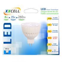 Xxcell - Lampadina LED ceramica 4W GU5,3