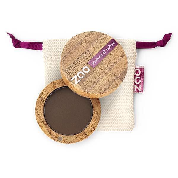 Zao MakeUp - Fard a Paupieres 203 Brun fonce mat