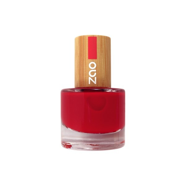 Zao MakeUp - Vernis a ongles 650 Rouge carmin