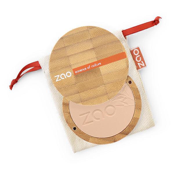 Zao MakeUp - Poudre compacte 302 Beige orange