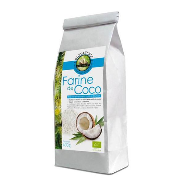 Ecoidées - Farine de Coco bio et équitable 400g