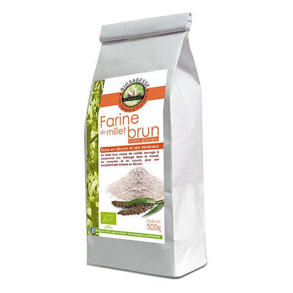 Ecoidées - Farine de millet brun sauvage 500g
