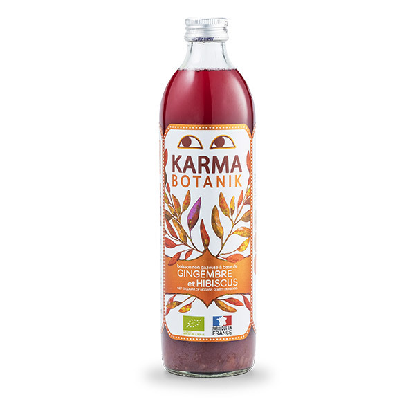 Karma - Boisson au Gingembre et Hibiscus 500ml