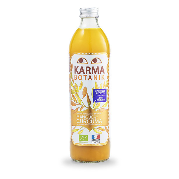 Karma - Boisson Karma Curcuma Mangue 500ml