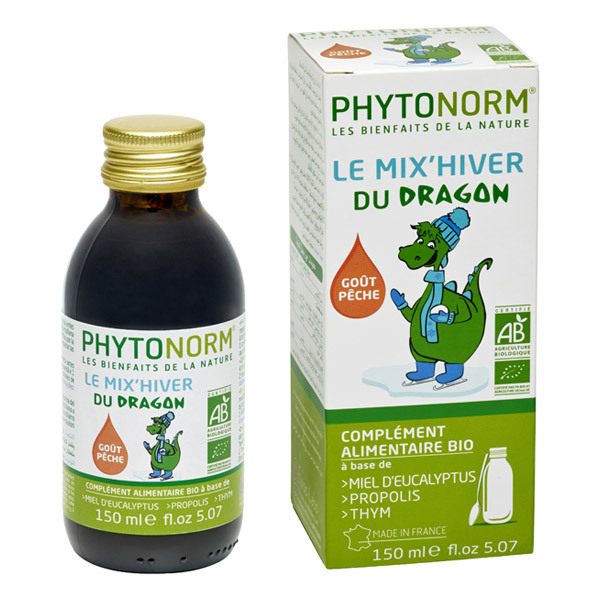 Phytonorm - Sirop Mix'Hiver du Dragon BIO 150mL