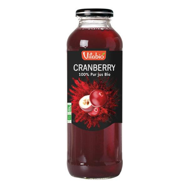 Vitabio - Pur Jus de Cranberry Bio 50cL