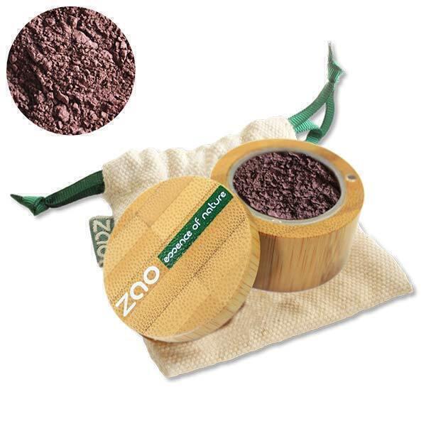 Zao MakeUp - Fard à paupières Mineral Touch Aubergine