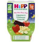 Hipp - 2 Bols Légumes à l'Italienne Gnocchi