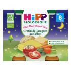 Hipp - 2 Petits pots Gratin de lasagnes Bio