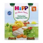 Hipp - 2 pots Fettucine Légumes Colin Bio