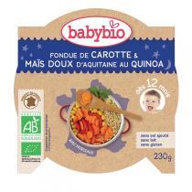 Babybio - Assiette Bébé Légumes quinoa dès 12 mois 230g