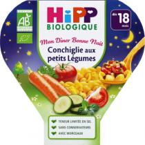 HiPP - Conchiglie with vegetables 260g