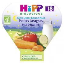 Hipp - 1 Assiette Lasagnes aux légumes Bio