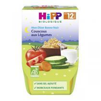 Hipp - 2 Bols Couscous aux légumes Bio