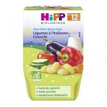 HiPP - 2 bols légumes à l'Italienne gnocchi 12 mois 220g