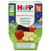 HiPP - Italian Gnocchi with Vegetables 2 x220g