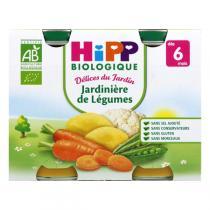 Hipp - 2 Petits pots Jardinière de légumes Bio