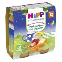 HiPP - 2 Petits pots Petites pâtes légumes 12 mois